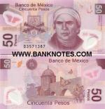 Mexico 50 Pesos 2004 (Serie A; D35713xx) UNC