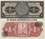 Mexico 1 Peso 25.1.1961 (JW/U4592xx) UNC