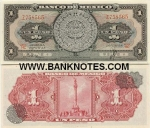 Mexico 1 Peso 10.5.1967 (BDN/S968xxx) UNC