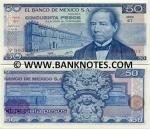 Mexico 50 Pesos 1978 (GK/X54722xx) UNC