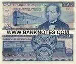 Mexico 50 Pesos 1981 (KF/F95425xx) UNC