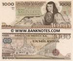 Mexico 1000 Pesos 27.1.1981 (QJ/S2B92758) UNC