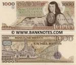 Mexico 1000 Pesos 13.05.1983 (UY/HZ763433) UNC