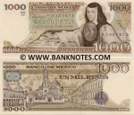 Mexico 1000 Pesos 13.05.1983 (TX/WN255494) UNC