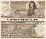 Mexico 1000 Pesos 1985 (YE/V2637248) UNC
