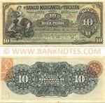 Mexico 10 Pesos 1904 YUCATÁN (H 32353) UNC
