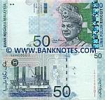Malaysia 50 Ringgit (2001) (HB02065xx) UNC