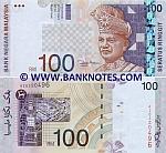 Malaysia 100 Ringgit (2001) (AZ032049x) UNC