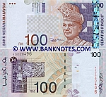Malaysia 100 Ringgit (2001-) UNC