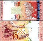 Malaysia 10 Ringgit (2004) (GL00207xx) UNC