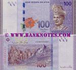 Malaysia 100 Ringgit (2011) UNC
