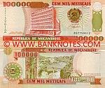Mozambique 100000 Meticais 16.6.1993 (FE7759613) UNC