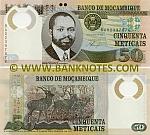 Mozambique 50 Meticais 16.6.2011 UNC