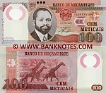 Mozambique 100 Meticais 16.6.2011 UNC