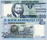 Mozambique 200 Meticais 16.6.2011 (DA05334663) UNC