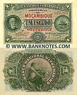 Mozambique 1 Escudo 1.1.1921 (5,495,209) AU