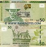 Namibia 50 Dollars 2012 (G044204xx) UNC