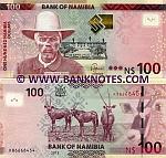 Namibia 100 Dollars 2012 (K86668455) UNC