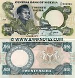 Nigeria 20 Naira 2001 UNC