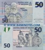 Nigeria 50 Naira 2006 (BF11235xx) UNC