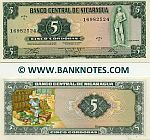 Nicaragua 5 Cordobas D.1972 UNC