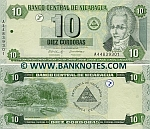 Nicaragua 10 Cordobas 2002 (A448393xx) UNC