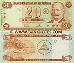 Nicaragua 20 Cordobas 2006 (B141608xx) UNC