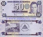 Nicaragua 50 Cordobas 2006 (B040781xx) UNC