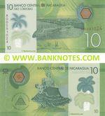 Nicaragua 10 Cordobas 26.3.2014 (A005910xx) UNC