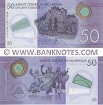 Nicaragua 50 Cordobas 26.3.2014 (A016745xx) UNC