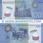 Nicaragua 100 Cordobas 26.3.2014 (A024638xx) UNC