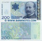 Norway 200 Kroner 2006 UNC