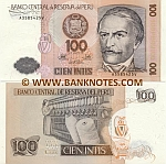 Peru 100 Intis 26.6.1987 (A35854xxV) UNC