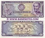 Peru 200 Soles de Oro 23.2.1968 UNC