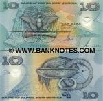Papua New Guinea 10 Kina 2002 (AL0229027x) UNC