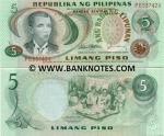 Philippines 5 Piso (1978) (PE5374xx) UNC