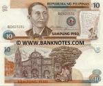 Philippines 10 Piso (1985-94) UNC