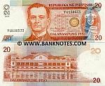 Philippines 20 Piso 2008 UNC