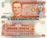 Philippines 20 Piso 2004 UNC