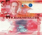 Philippines 50 Piso 2010 (K70034x) UNC