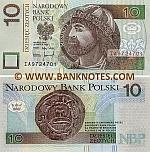 Poland 10 Zlotych 25.3.1994 UNC