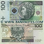 Poland 100 Zlotych 25.3.1994 (YH8093586) UNC