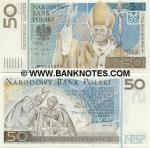 Poland 50 Zlotych 2006 UNC