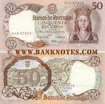 Portugal 50 Escudos 28.2.1964 (#ARV82750) (Nunes & Castro sig.) AU