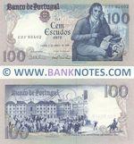 Portugal 100 Escudos 4.6.1985 (VMR Constâncio & A. de AV Pinto sig.) (EZF 93402) UNC