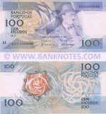 Portugal 100 Escudos 24.11.1988 (DFG005886) (Moreira & Ribeiro sig.) UNC