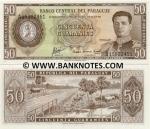 Paraguay 50 Guaranies L.1952 (1963) UNC