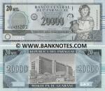 Paraguay 20000 Guaranies 2005 UNC