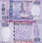 Rwanda 2000 Francs 2007 (AW0759214) UNC