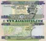Solomon Islands 50 Dollars (2001) (A/25 002330) UNC